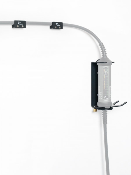 Cable Holder Set | Twin pack with lockable wall-mounting bracket