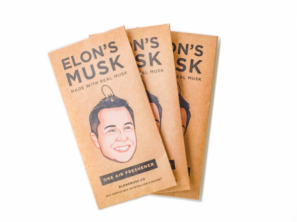 Elon's Musk | Air freshener | Triple pack